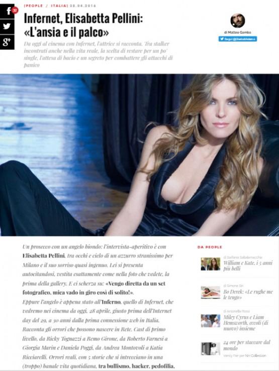 Vanity Fair Elisabetta Pellini