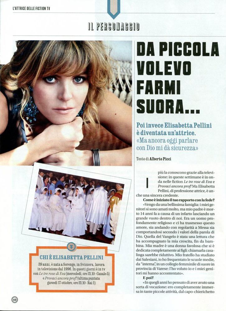 Elisabetta Pellini - Credere